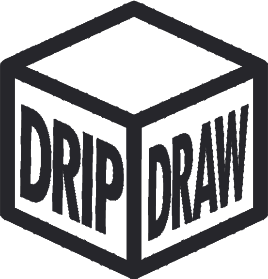 Dripdraw Logo: Hyped streetwear in fair mystery boxes